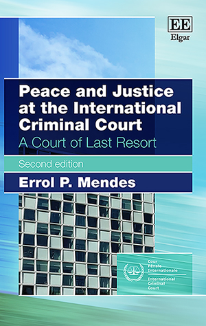 Peace and Justice at the International Criminal Court
