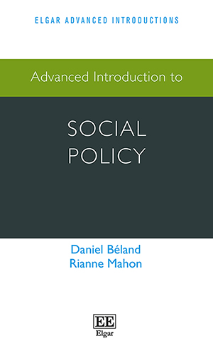 Advanced Introduction to Social Policy