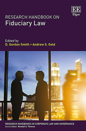 Research Handbook on Fiduciary Law