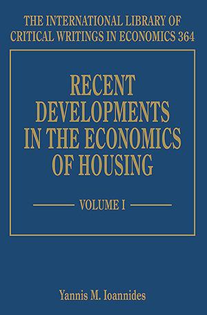 Recent Developments in the Economics of Housing