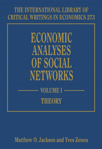 Economic Analyses of Social Networks