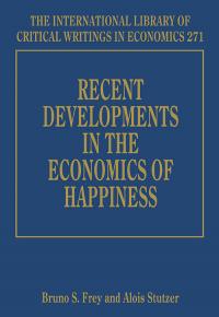 Recent Developments in the Economics of Happiness