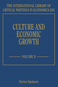 Culture and Economic Growth