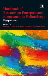 Handbook of Research on Entrepreneurs' Engagement in Philanthropy
