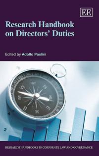 Research Handbook on Directors' Duties