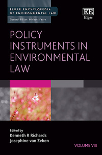 Policy Instruments in Environmental Law