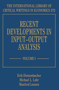 Recent Developments in Input–Output Analysis