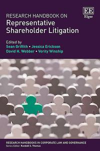 Research Handbook on Representative Shareholder Litigation
