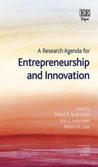 A Research Agenda for Entrepreneurship and Innovation