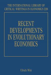 Recent Developments in Evolutionary Economics