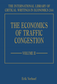 The Economics of Traffic Congestion