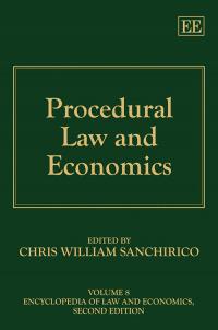 Procedural Law and Economics