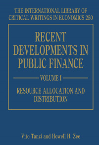 Recent Developments in Public Finance