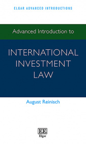 Advanced Introduction to International Investment Law
