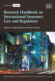 Research Handbook on International Insurance Law and Regulation