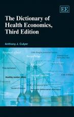 The Dictionary of Health Economics, Third Edition