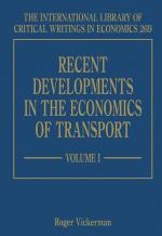 Recent Developments in the Economics of Transport