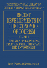 Recent Developments in the Economics of Tourism