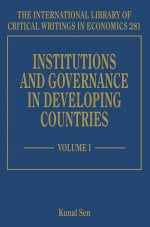 Institutions and Governance in Developing Countries
