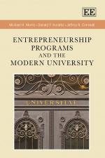 Entrepreneurship Programs and the Modern University