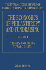 The Economics of Philanthropy and Fundraising