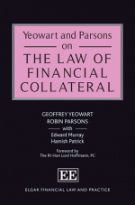 Yeowart and Parsons on the Law of Financial Collateral