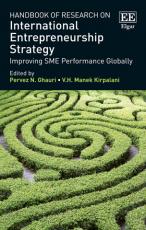 Handbook of Research on International Entrepreneurship Strategy