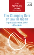 The Changing Role of Law in Japan