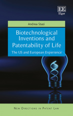 Biotechnological Inventions and Patentability of Life