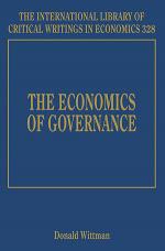 The Economics of Governance