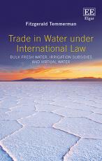Trade in Water Under International Law