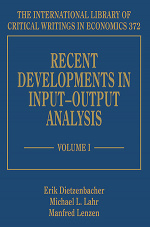 Recent Developments in Input–Output Analysis