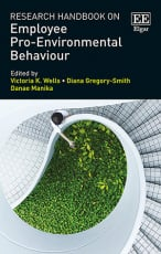 Research Handbook on Employee Pro-Environmental Behaviour