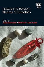 Research Handbook on Boards of Directors