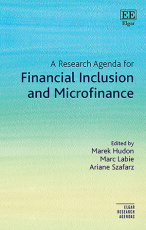 A Research Agenda for Financial Inclusion and Microfinance