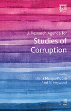 A Research Agenda for Studies of Corruption