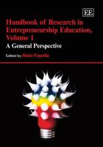 Handbook of Research in Entrepreneurship Education, Volume 1