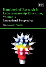 Handbook of Research in Entrepreneurship Education, Volume 3