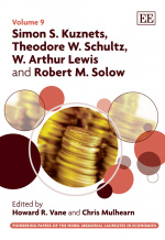 Simon S. Kuznets, Theodore W. Schultz, W. Arthur Lewis and Robert M. Solow