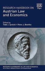 Research Handbook on Austrian Law and Economics
