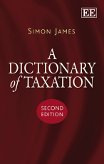 A Dictionary of Taxation, Second Edition