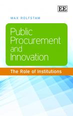 Public Procurement and Innovation